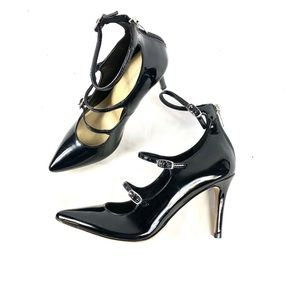 Marc Fisher NWT patent leather heels black size 6